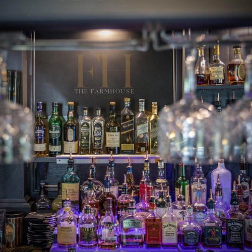Selection of over 200 spirits
