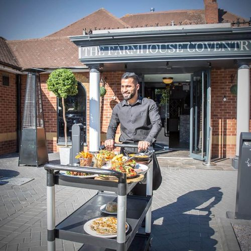 Farmhouse Coventry - Serving Up to Alfresco Diners
