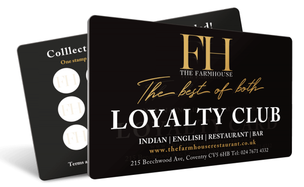 Farmhouse Loyalty Card