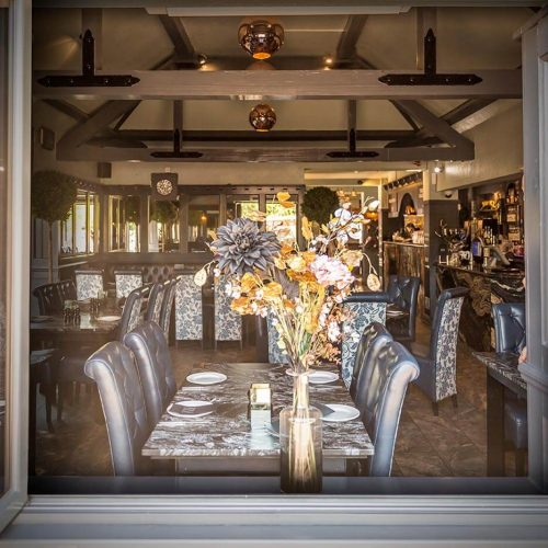 The Farmhouse Restaurant - View from the outside